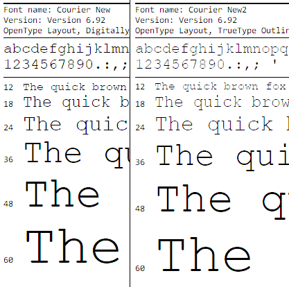 My Love/Hate relationship with ClearType